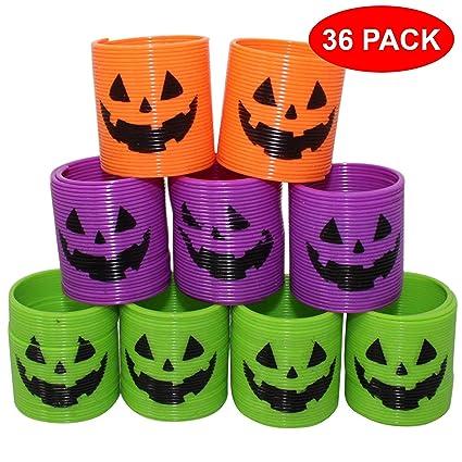 36 Mini Halloween Magic Springs - 4 Styles 3c47bbc1ea9e