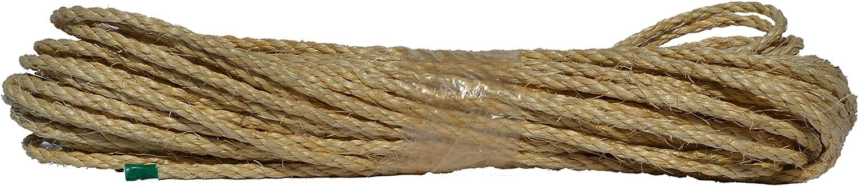 100 m Nouvelle Corde de sisal naturel 4/mm
