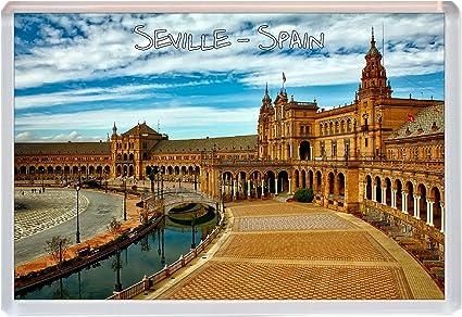 Sevilla – España – Jumbo imán para nevera regalo/souvenir/Present ...