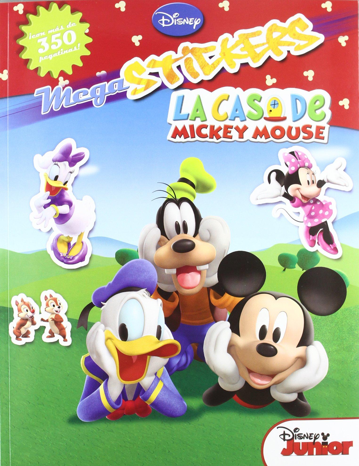 Megastickers - la casa de mickey mouse Mickey disney: Amazon.es: Aa.Vv.: Libros