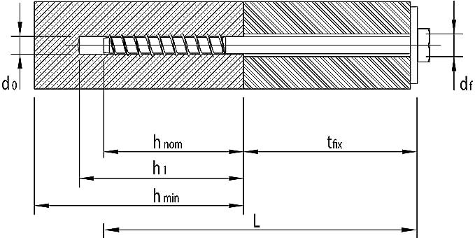 25 St/ück HECO 4019787484657 MMS Plus SKT 12x 200 Schraubanker verzinkt mit gro/ßer Scheibe nach DIN 440 Inhalt