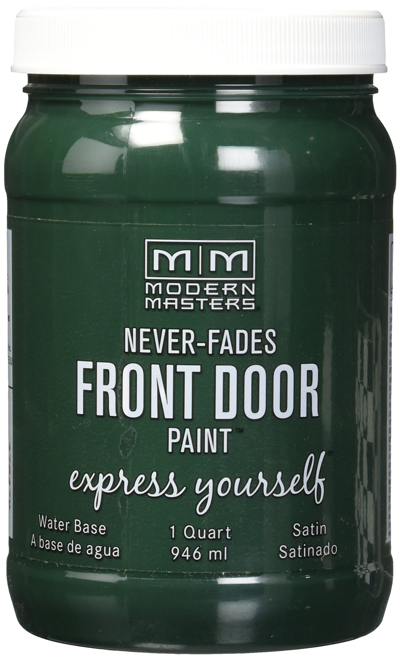 Modern Masters 275279 Satin Front Door Paint, 1 quart, Successful