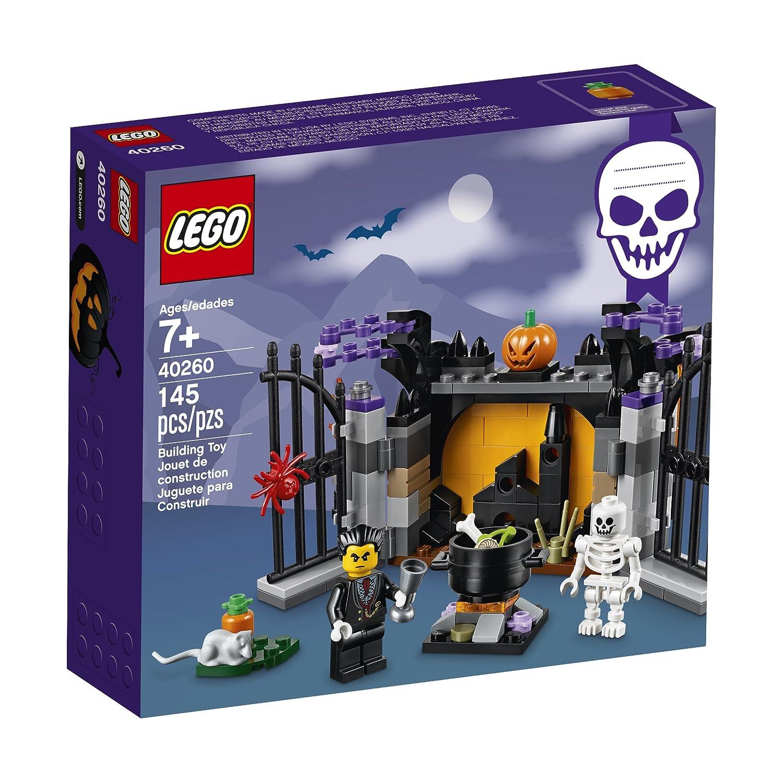 amazoncom lego holiday 6175449 halloween haunt 40260 multi toys games