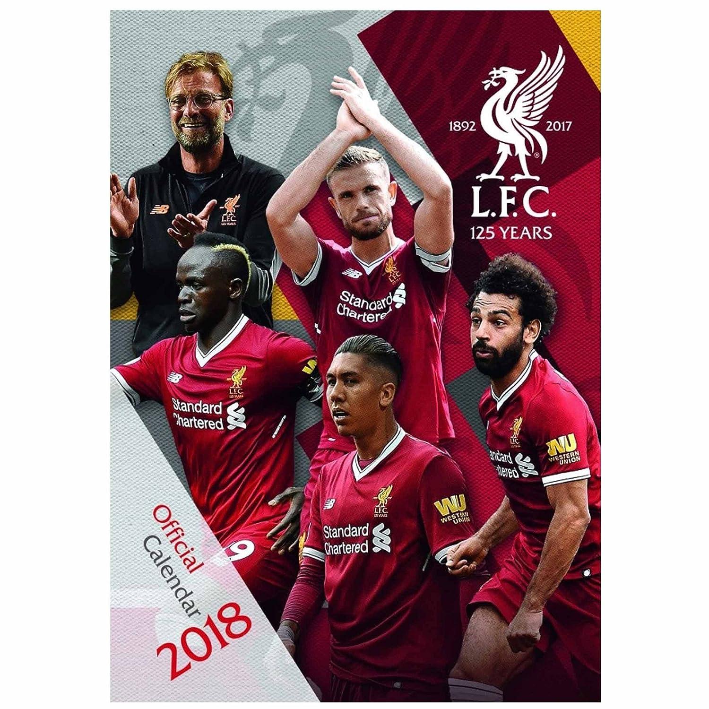 Neue Offizielle Liverpool FC 2018 Fußball Kalender 420mm x 297mm (A3) FC Liverpool