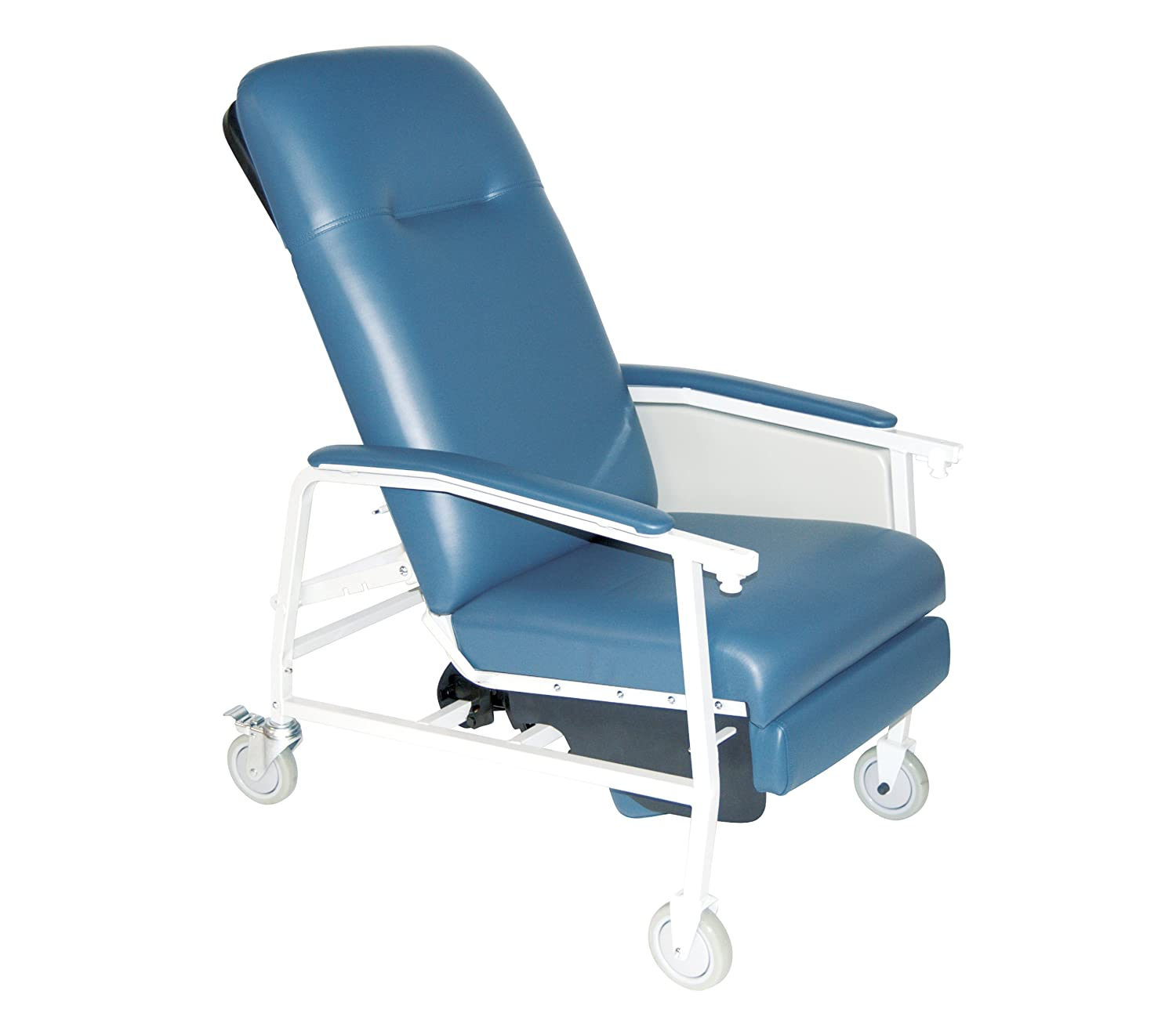 Amazon Drive Medical 3 Position Geri Chair Recliner Blue