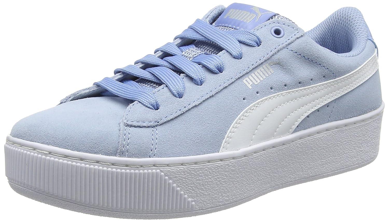 Puma Puma Femme Vikky Platform, Baskets Basses Femme Bleu (Cerulean-puma Baskets White 17) 30b57bc - reprogrammed.space