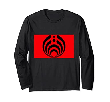 Amazon Ancient Greek Strength Symbol Red White Long Sleeve