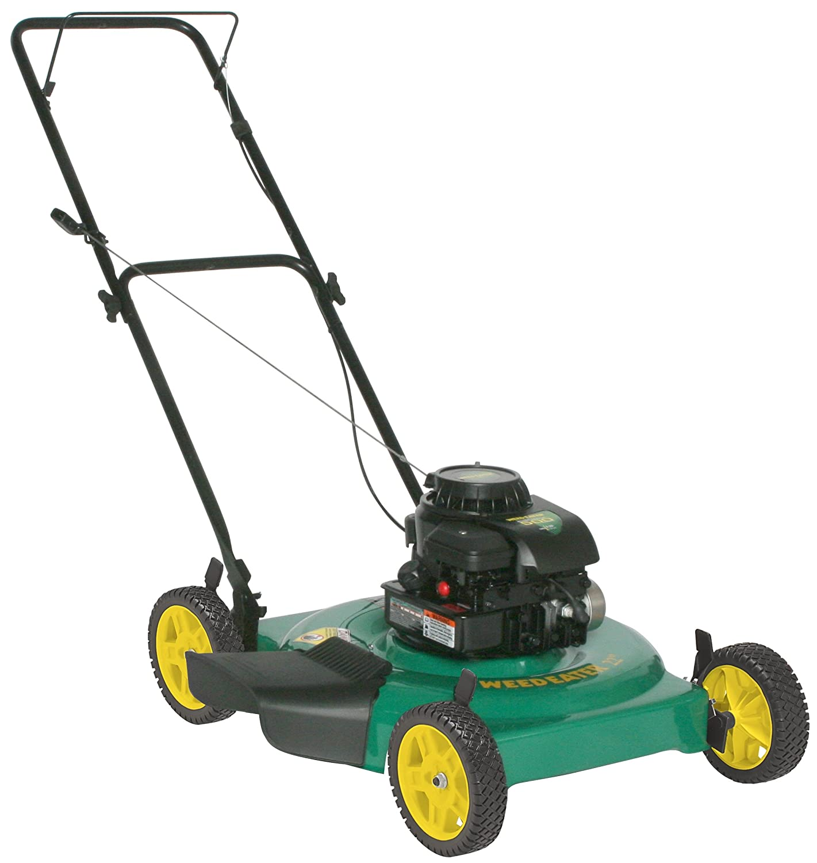 Amazon.com : Weed Eater 961140003 22-Inch 158cc Briggs & Stratton Gas  Powered Side Discharge/Mulch Lawn Mower : Walk Behind Lawn Mowers : Garden  & Outdoor