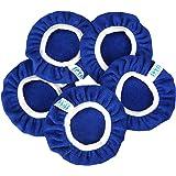 "SPTA Car Polisher Pad Bonnet Soft Microfiber Polishing Bonnet Buffing Pad Cover For 5"" And 6"" Car Polisher Pack of 5Pcs"