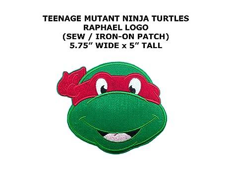 Raphael Teenage Mutant Ninja Turtles DIY bordado Sew parche ...