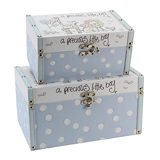 Tracey Russell Set Of 2 Storage Boxes   Precious Little Boy: Amazon.co.uk:  Baby