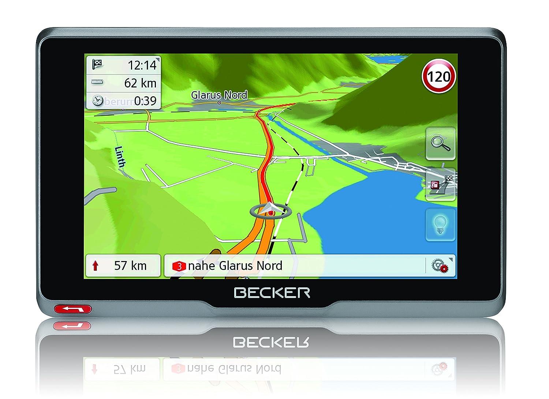 Becker ready.5 CE Navigationsgerä t (12,7 cm (5 Zoll) Bildschirm, 20 Lä nder vorinstalliert,  TMC, inkl. MagClick Aktivhalter, SituationScan) 200040