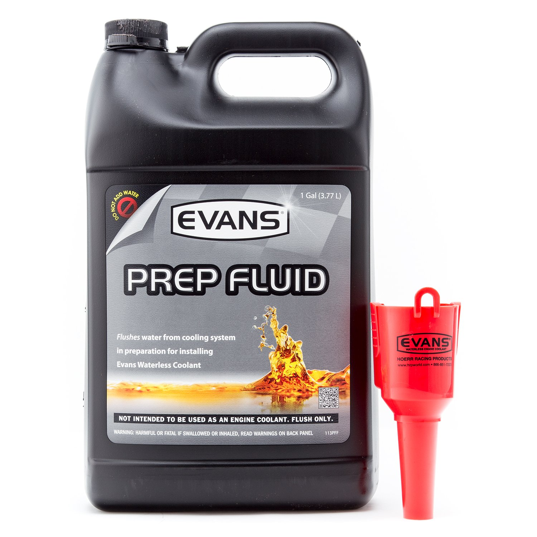 Evans Cooling Systems EC42001 Waterless Prep Fluid, 128 fl. oz.