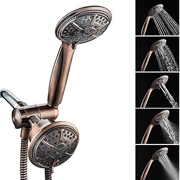 Shower Head, Ukoke USH02B 3 way shower head, 2 in 1 handheld Shower ...