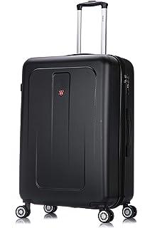 e45f316b9736 Amazon.com | DUKAP Luggage Crypto Lightweight Hardside 3 piece set ...