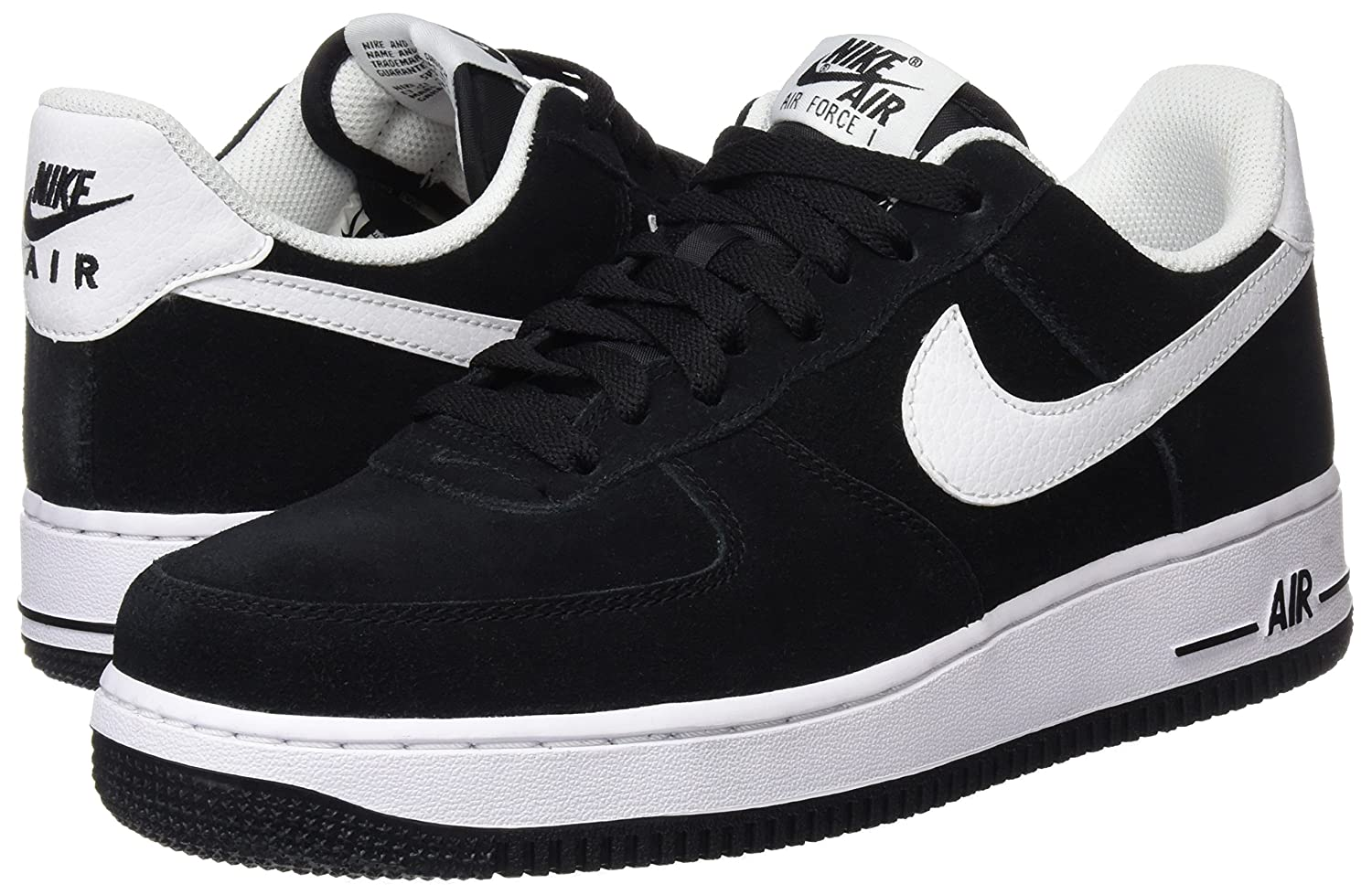 quality design 1d0fc 26e85 NIKE Uomo Air Force 1 Low 07 Basketball scarpe Nero 3b1747