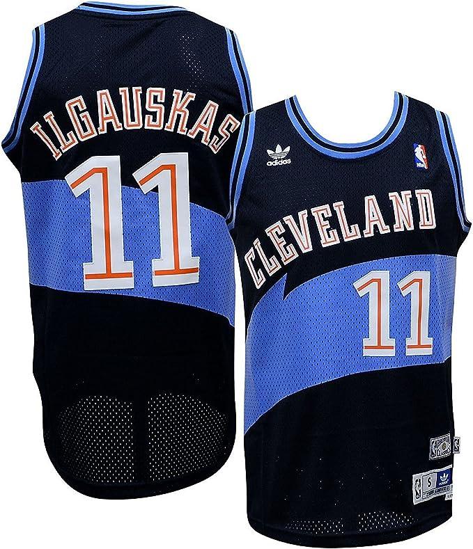 adidas Cleveland Cavaliers Zydrunas Ilgauskas Alma de Jersey - Verde -: Amazon.es: Ropa y accesorios