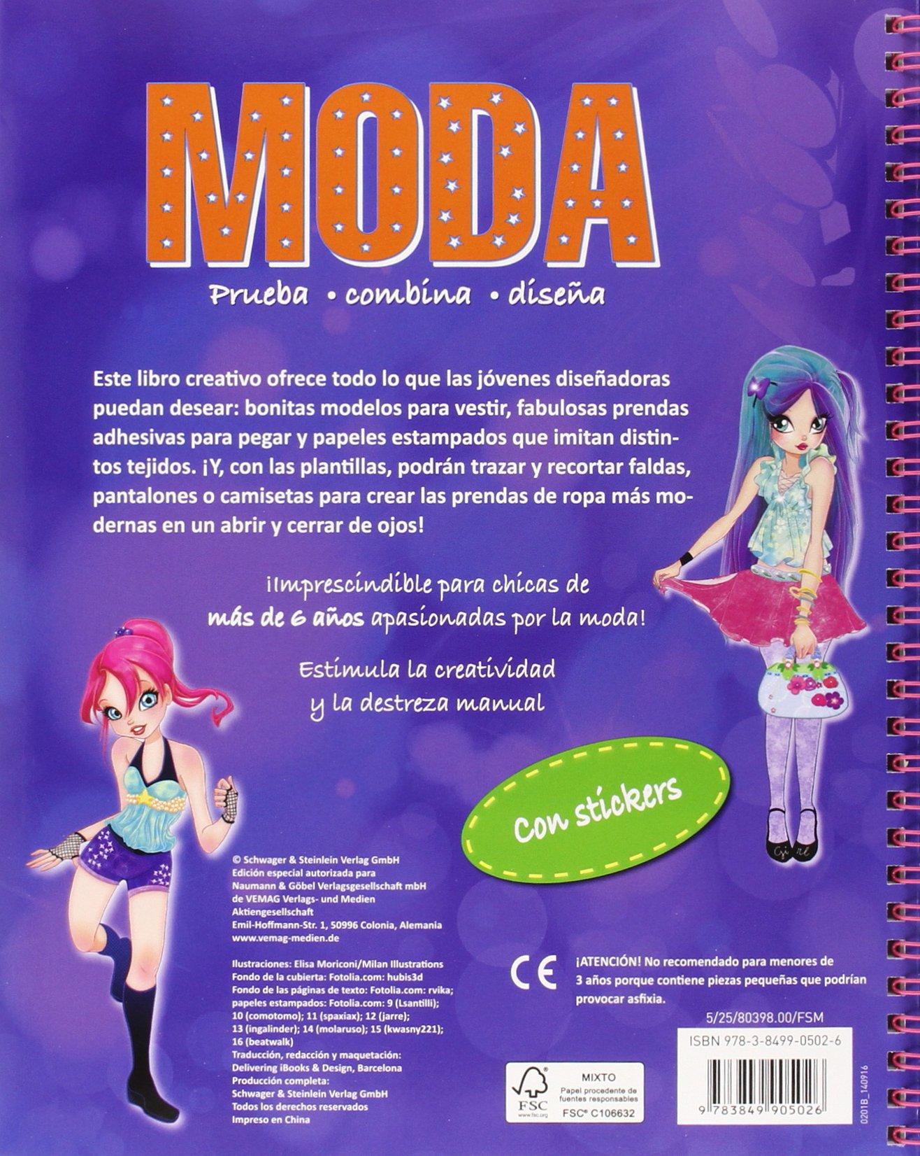 MODA ESTILO DISCO MODA 8398 NGV: VV.AA.: 9783849905026: Amazon.com ...