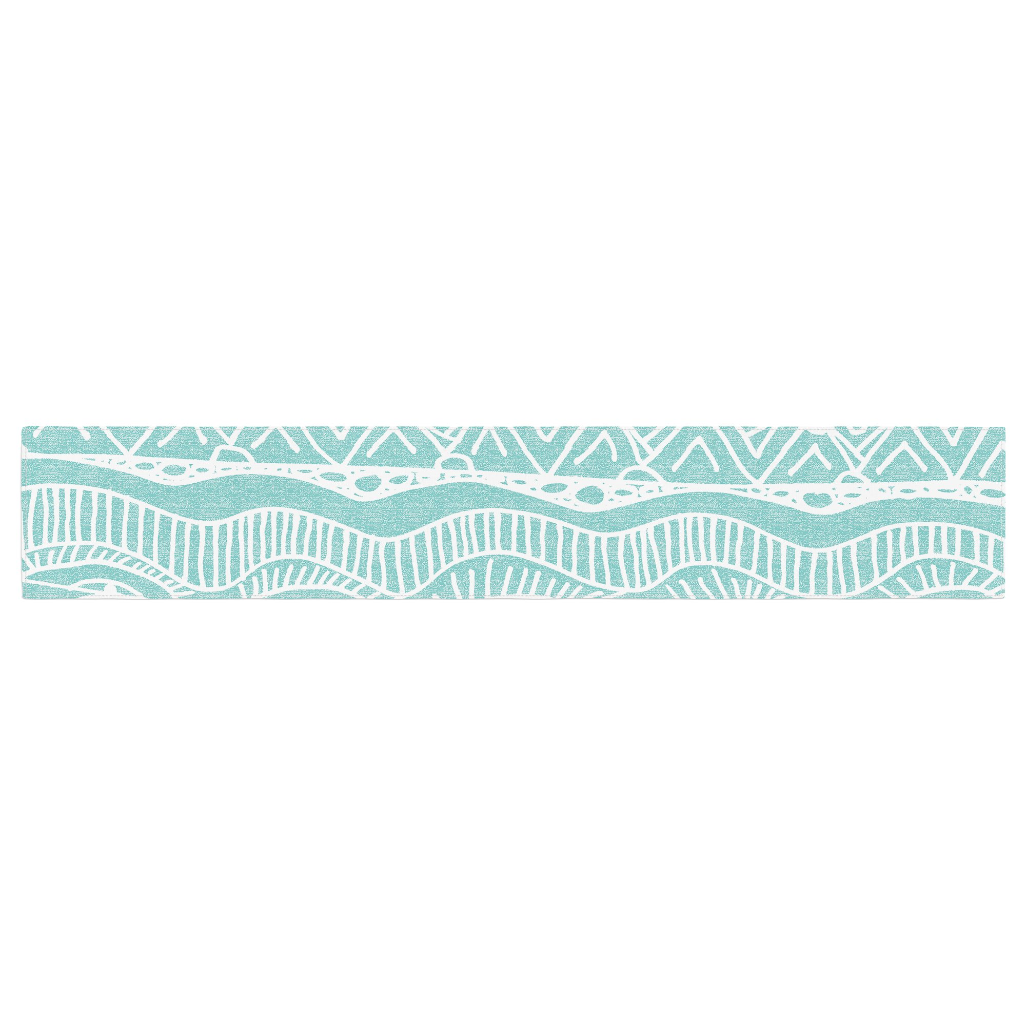 KESS InHouse Catherine Holcombe ''Beach Blanket Bingo'' Table Runner, 16'' x 90'' by Kess InHouse