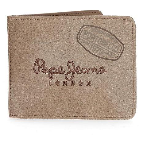 Pepe Jeans Duetone Monedero, 10 cm, 0.19 litros, Marrón ...