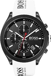 Hugo BOSS Reloj Analógico para Hombre de Cuarzo con Correa en Silicona 1513718