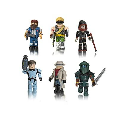Roblox Action Collection - Q-Clash Six Figure Pack [Includes Exclusive Virtual Item]: Toys & Games
