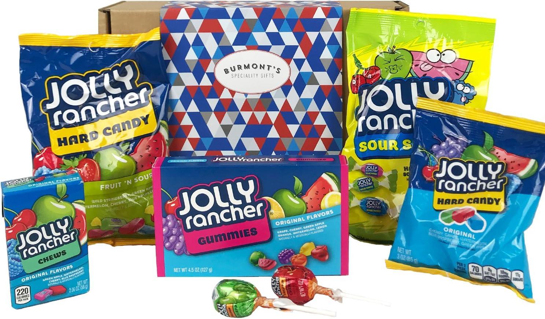 Caja De Regalo Jolly Rancher Selección De Caramelos Americana ...