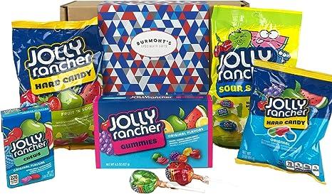 Caja De Regalo Jolly Rancher Selección De Caramelos Americana - Cesta Exclusiva Para Burmonts: Amazon.es: Alimentación y bebidas