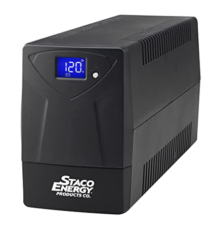 Staco Energy Touch Screen LCD Line Interactive UPS 400VA 240W (SB-04001)