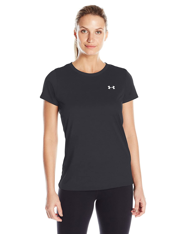 Amazon.com  Under Armour Women s Tech T-Shirt  Sports   Outdoors 85c7364e266