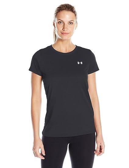 1d646fac Amazon.com: Under Armour Women's Tech T-Shirt: Clothing