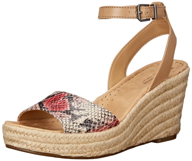 Naturalizer Women's Note Espadrille Wedge Sandal B014GMWT9M 8 N US|Pink