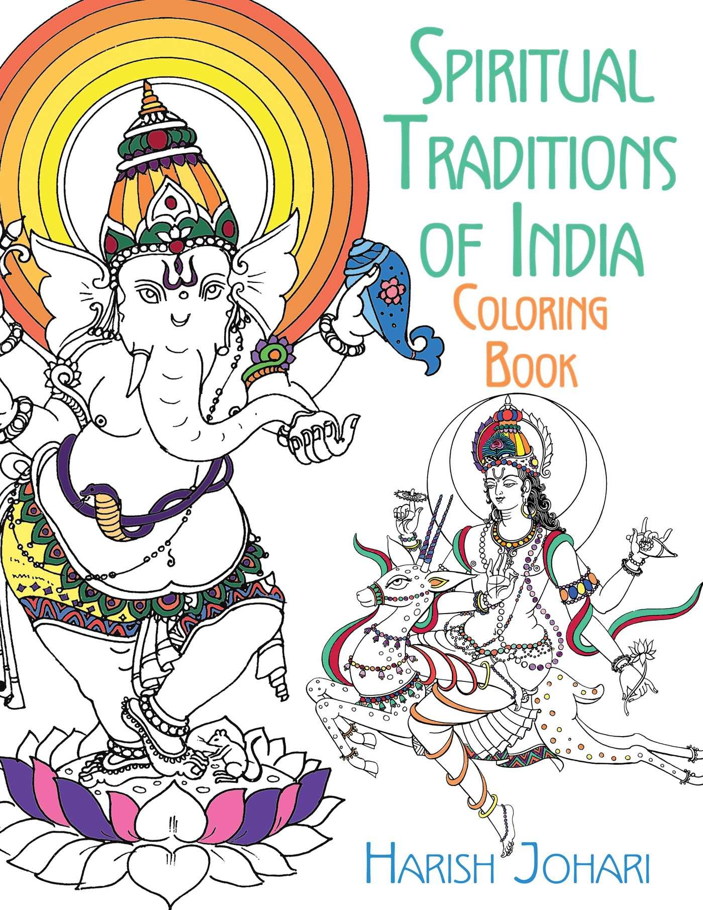 Spiritual Traditions India Coloring Book product image