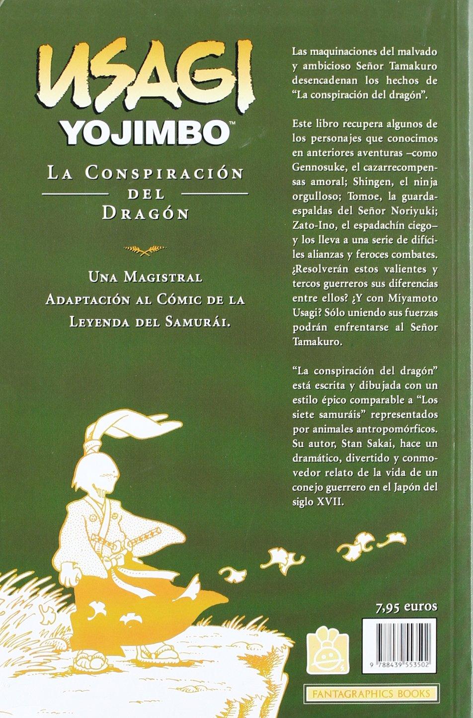 Usagi Yojimbo 9 La conspiracion del dragon/The Dragon ...
