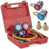 ARKSEN HVAC A/C Refrigeration AC Manifold Gauge Set for R134A