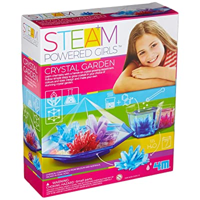 4M Steam Powered Girls Crystal Garden Toy: Toys & Games