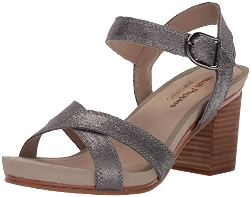 782723ed34a Hush Puppies Mariska Womens Ankle Strap Heeled Sandal  Amazon.co.uk ...