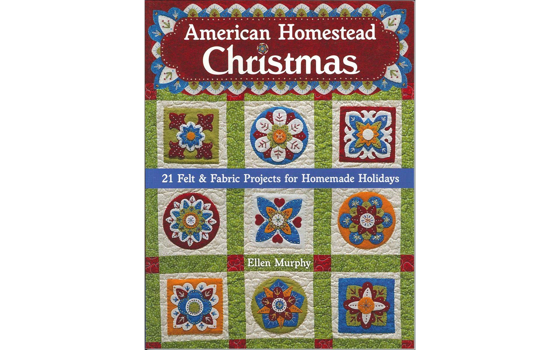 C&T PUBLISHING C&T American Homestead Christmas Bk