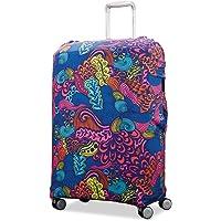 Samsonite Luggage Cover, Acid Nature Print, Medium