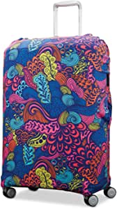Samsonite Printed Luggage Cover - Medium, Acid Nature Print (Multi) - 77995-4580