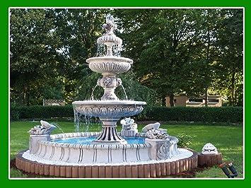 Schöner großer Garten Springbrunnen Brunnen 3M Durchmesser ! Neuware ...