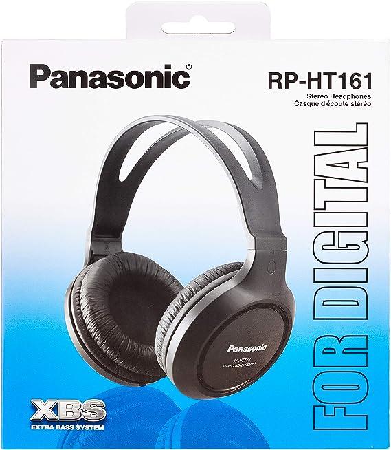 Panasonic Rp Ht161e K Hifi Kopfhörer Schwarz Elektronik