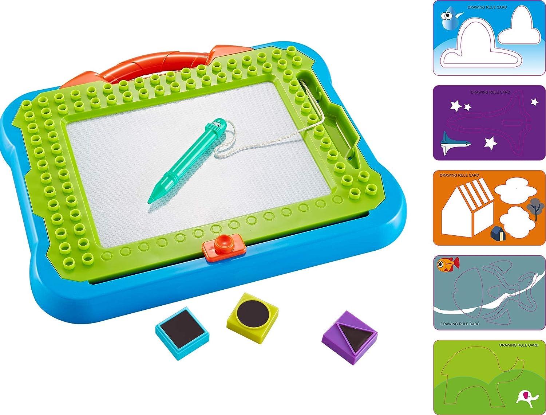 Think Gizmos Tablero de Dibujo Magnético – Divertida Pizarra Mágica para Niños y Niñas de 3 4 5 6 7 8 años – Tableta Magnética Tipo Juguete de Aprendizaje para Niños - TG810