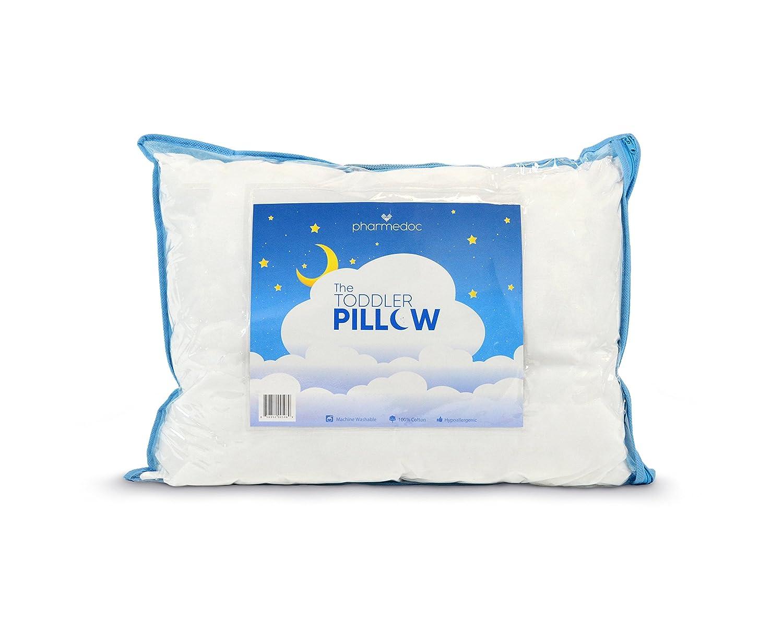 Horse shaped pillows for children - Pharmedoc Toddler Pillow For Kids White 14 X 19 Inch