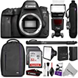 Canon EOS 6D Mark II DSLR Camera Body w/ Complete Photo and Travel Bundle