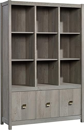 Sauder 422868 Cannery Bridge Storage Wall, Mystic Oak Finish
