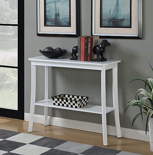 Convenience Concepts Designs2Go Baja Console Table, White