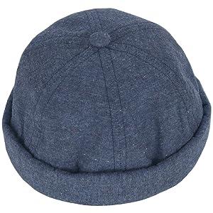 RaOn B178 Mens Womens Space Milky Way No Bill Design Ball Cap Baseball Hat Truckers (Blue)