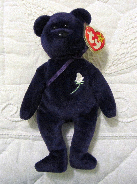 b15dabce817 Amazon.com  Ty Beanie Babies - Princess Bear  Toys   Games