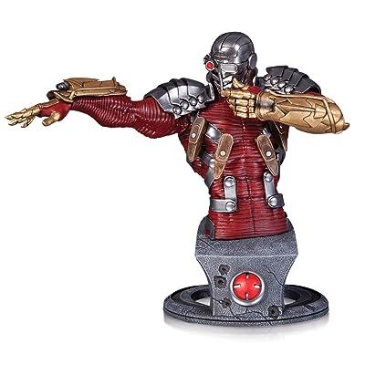 DC Collectibles Comics Super-Villains: Deadshot Bust Statue: Toys & Games